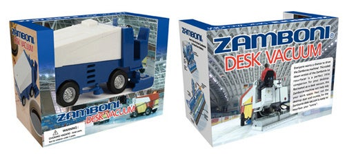 Suck Up Your Desk Debris With The Zamboni Vacuum