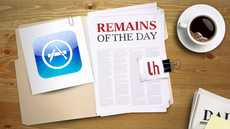 Remains of the Day: You Can Once Again Send Gifts Through The App Store