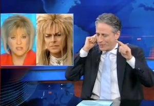 Jon Stewart Mocks Nancy Grace's Fear-Mongering Japan Coverage