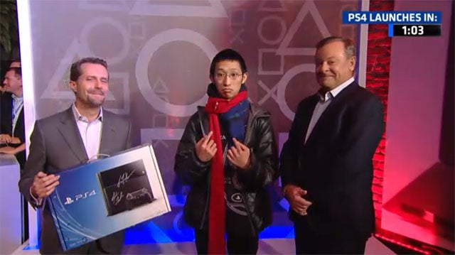 Meet the First PS4 Customer. He Has Come to Judge You.