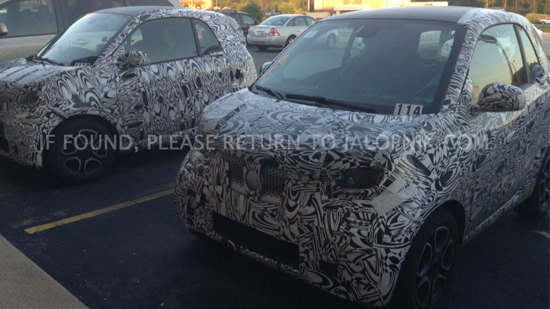 This Might Be The 2015 Smart ForTwo And It Looks Way Different