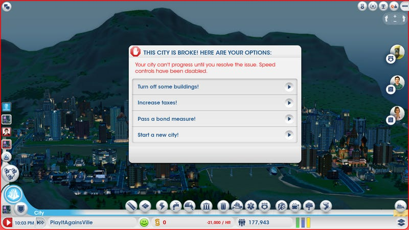 Am I An Idiot For Playing SimCIty?