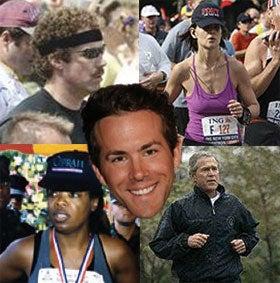 10 Celeb Marathoners to Beat in Ryan Reynolds' Rookie Race
