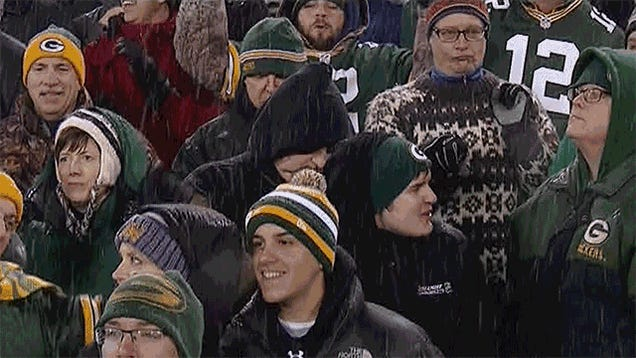Oh, That's Why They're Making A Reality Show About Packers Fans: Sunday Night Football, In Four GIFs