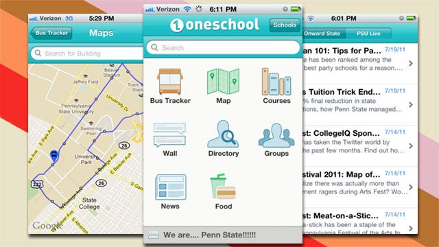 OneSchool Puts Everything a Student Needs to Know About Her College on Her Phone