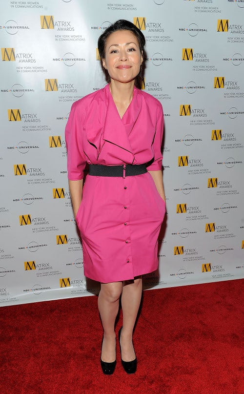 Awkward! Fey, Crow Sport Similar Dress At Matrix Awards