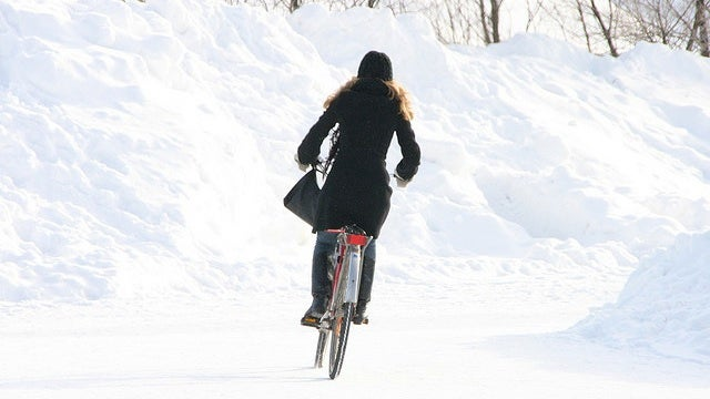 Prepare Your Bicycle and Your Body for Winter Riding