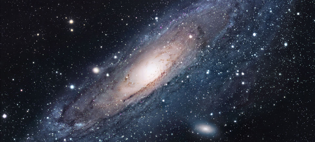 The Andromeda Galaxy is beautiful, and it looks a lot like what the Milky Way looks like.