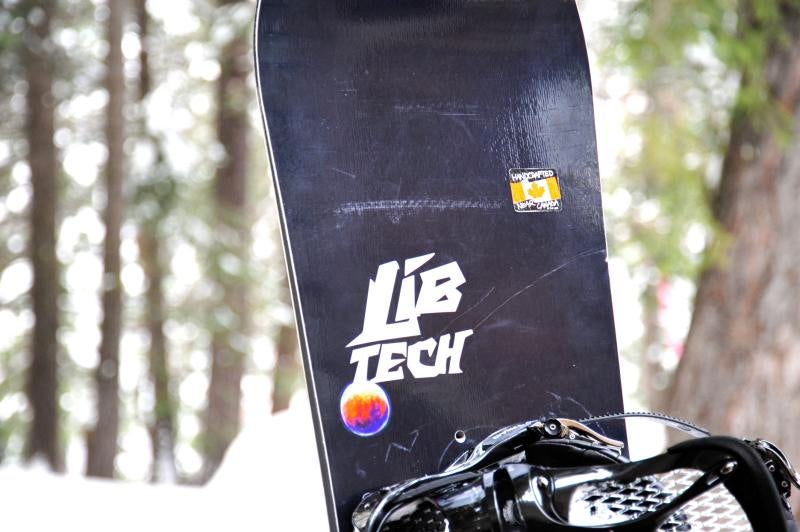 Lib-Tech Travis Rice Snowboard w/Magne-traction and Banana: Snowmodo Review
