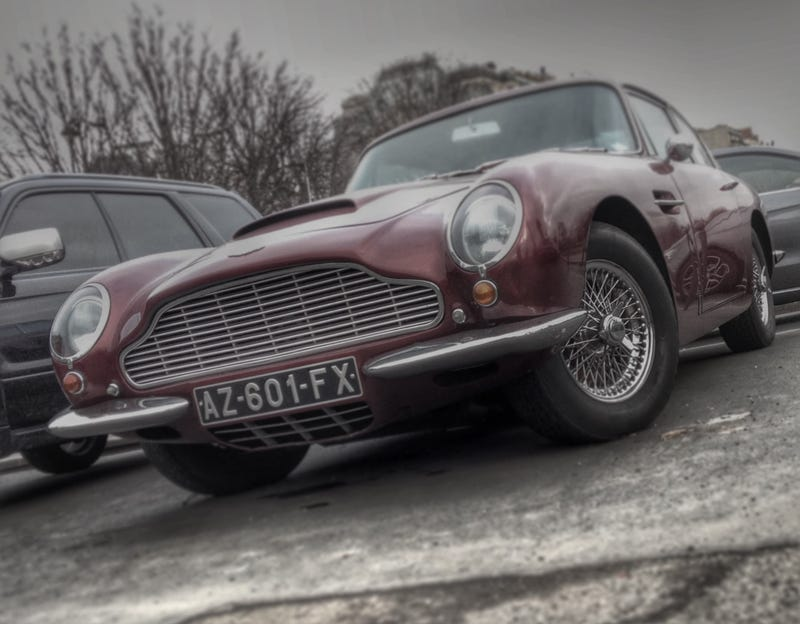 Aston Martin DB6 Street Parked in Paris