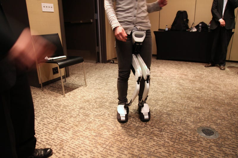 How It Feels To Walk With Honda's Cyborg Legs