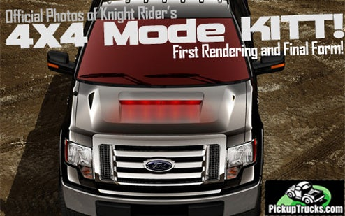 Don't Worry, KITT's New Truck Mode Is Microsoft-Approved
