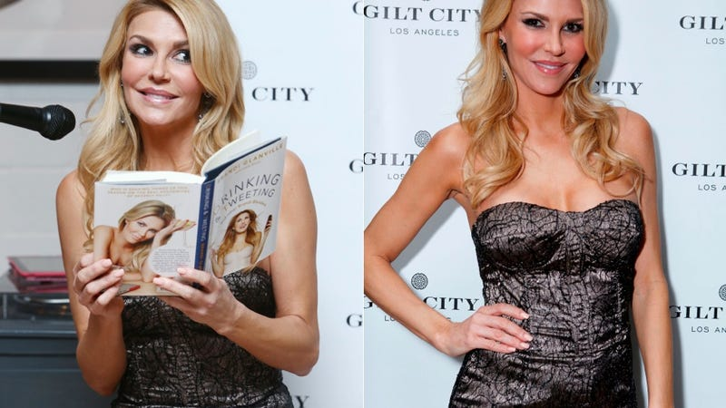 This Is What It Looks Like When a 'Real' Housewife Reads the Book She Wrote