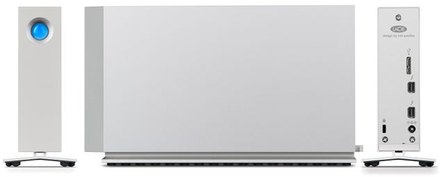 LaCie's d2 Thunderbolt 2 Can Be Upgraded With Extra SSD Storage