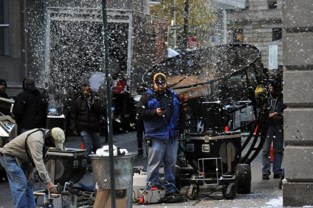 The Dark Knight Rises Set Pictures Part One
