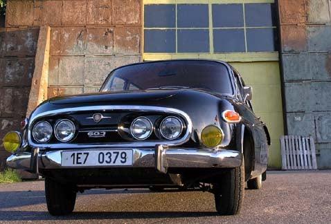 BobAsh Road Tests the 1965 Tatra 603