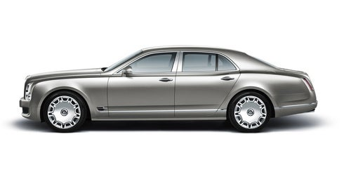 Bentley Mulsanne: It's Definitely Big