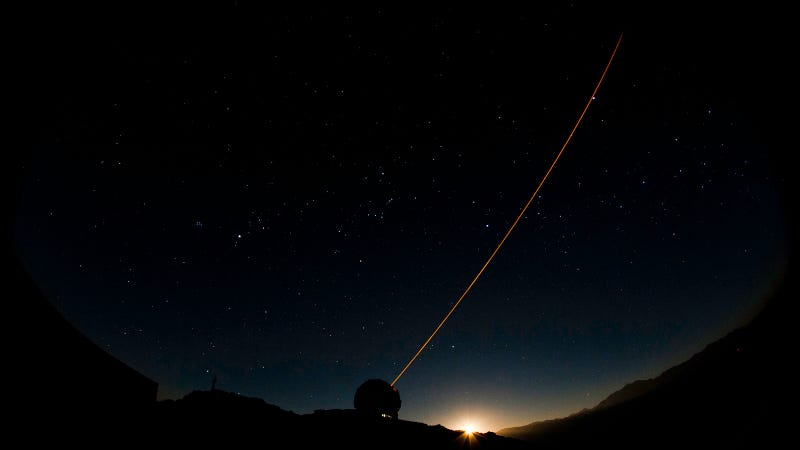This Telescope Shoots Lasers to Unlock the Mysteries of the Cosmos