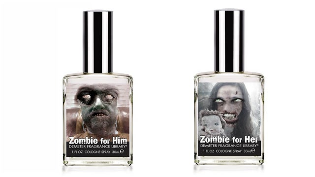 Zombie-scented perfumes make you smell less attractive to the undead