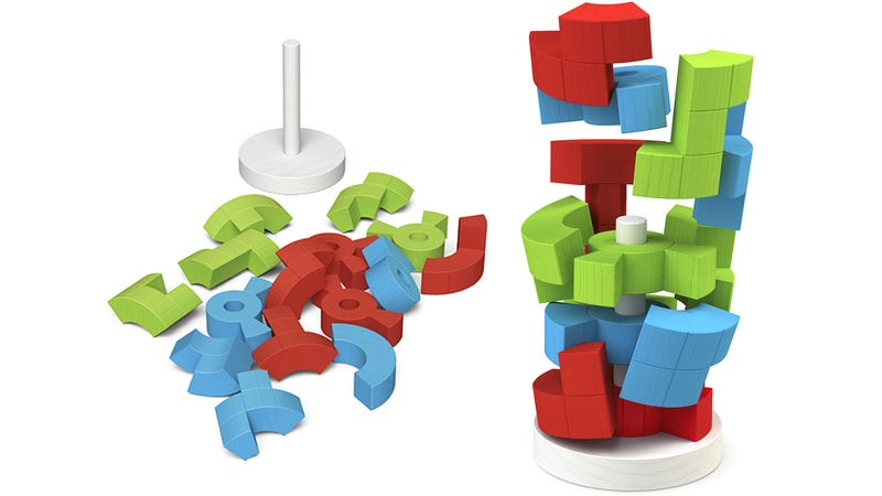 Logiq Tower Stacking Puzzle: The Evil Offspring of Tetris and Jenga