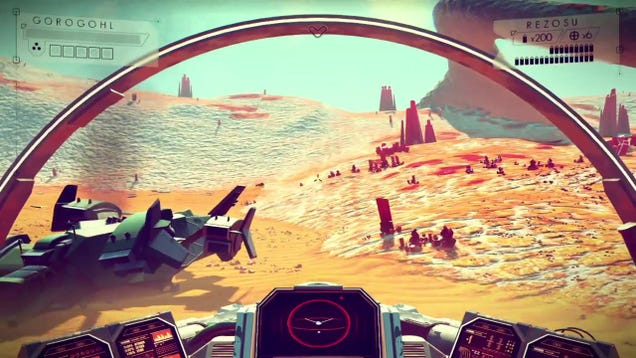 18 Minutes of No Man's Sky In Action