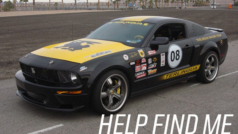 Some Jackass Stole A Really Rare Terlingua Mustang