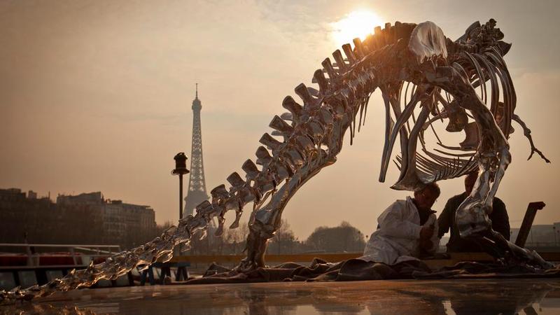 Every Public Sculpture Should be a Full-Size Chrome T-Rex