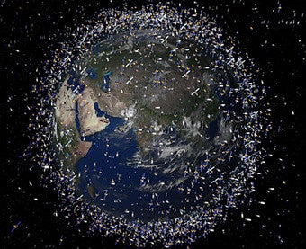 Russia Spending $2 Billion to Play Garbage Man in Outer Space