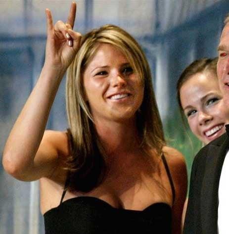 The Two Commandments Of Jenna Bush
