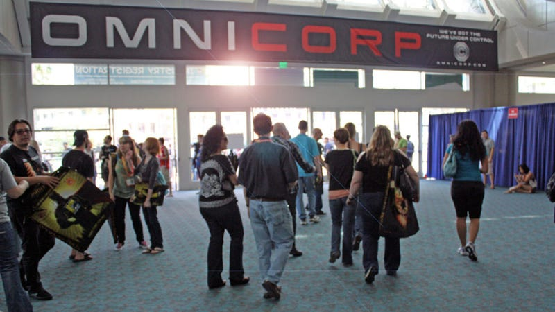 OmniCorp Taking Cerebro-Spinal Donations at San Diego Convention Center Today