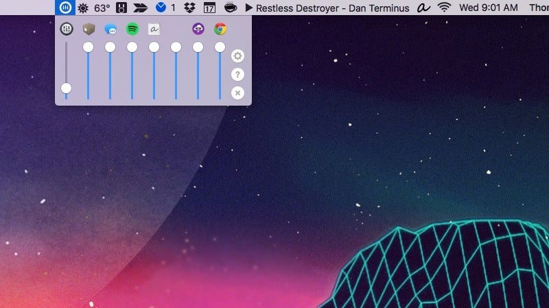 Volume Mixer Is an Application Specific Volume Controller for Mac