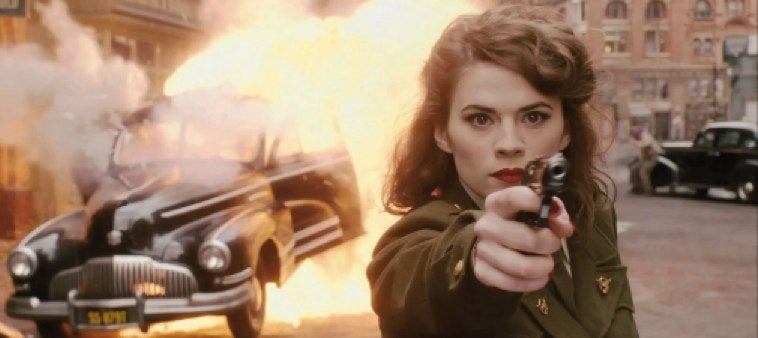 Peggy Carter kicks so much ass in the new Agent Carter clip