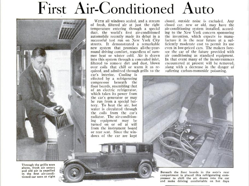 In-Car Air Conditioning Turns 80 This Month And I'm So Glad It Exists