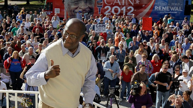 Herman Cain: Who Among Us Hasn't Been Accused Of Harassing The Ladies?