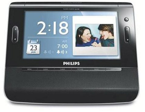 Philips Clock Radio / Digital Photo Frame: The Joy of Family Pictures at 6 AM