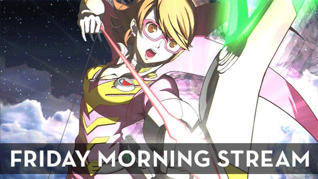 The Friday Morning Stream Plays Persona 4 Arena Ultimax