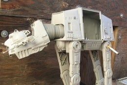 The Empire's Last AT-AT Act Of Destruction