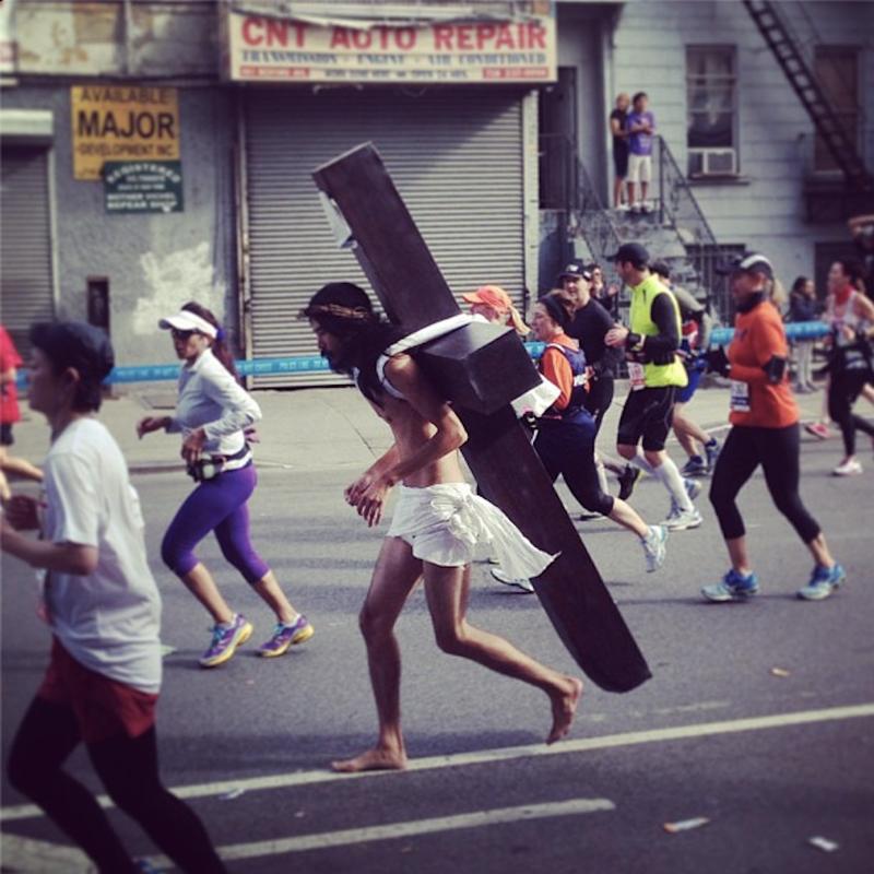 Jesus Runs