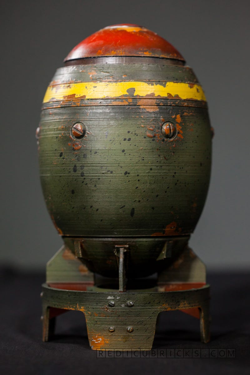 Fallout Fan 3d Prints A Mini Nuke