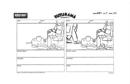 In Futurama Concept Art, Fry Gives Bender Mouth-To-Ass Resuscitation