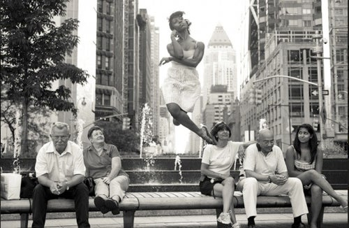 Dancers Float Through New York In Photography Collection