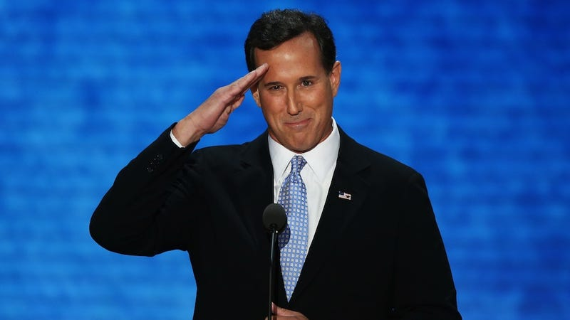 Rick Santorum Hates Happiness