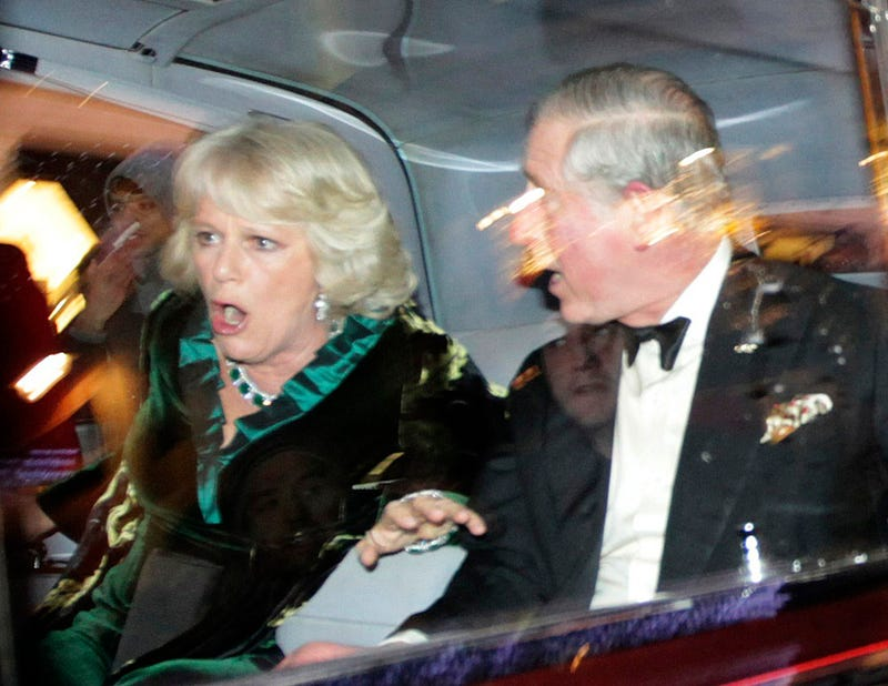 Angry Students Attack Prince Charles and Camilla