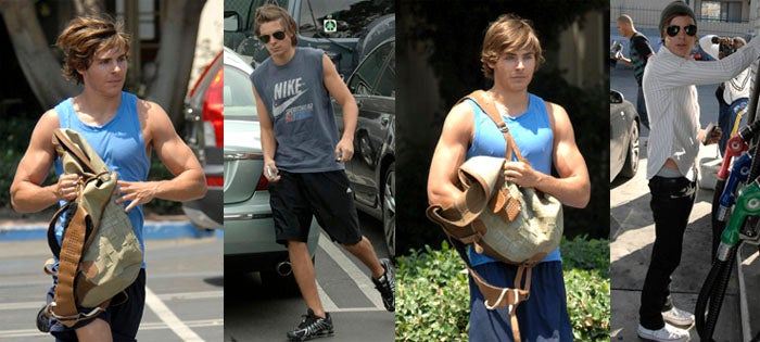 Zac Efron Joins Matt Damon's Weight Gain Club Just For Fun, Not For The Art Of Any Craft