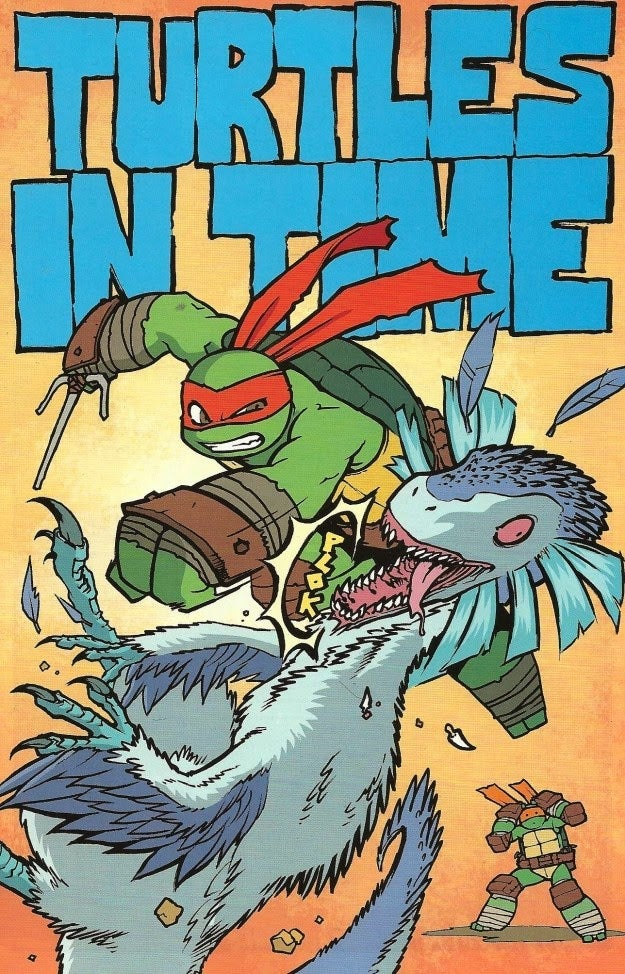Ninja Turtles Serves Up The Most Accurate Dinosaurs in Comics