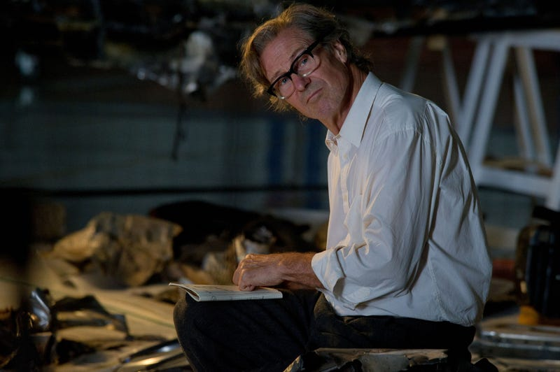 Here's William Hurt as the legendary physicist Richard Feynman!