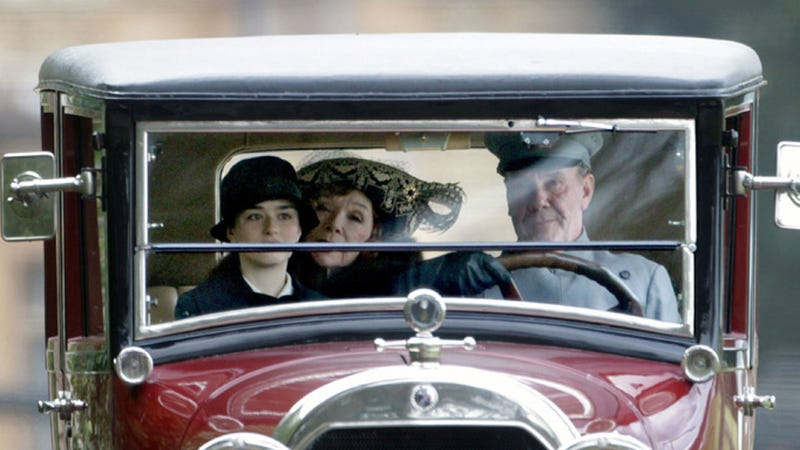 Great Dowager Countess! Mum's the Word in the New Downton Abbey Trailer