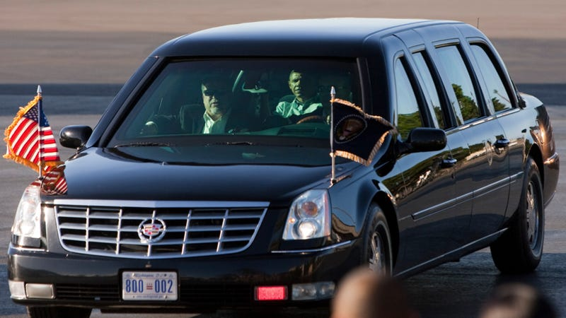 Obama Will Put D.C.'s Tax Protest Plates On The Presidential Limo