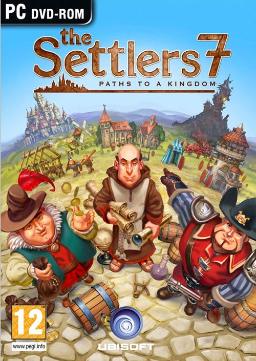 The Settlers 7 Box Art Gets Extremely Kirby-ed For America