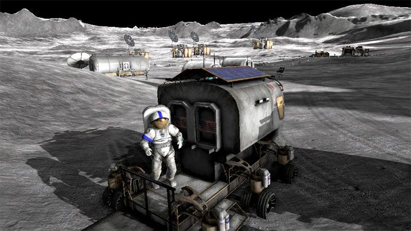 NASA Invites Gamers To Explore Moonbase Alpha